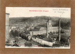 CPA - MOYENMOUTIER (88) - Aspect Du Quartier De L'Usine De Filature Et Tissage En 1919 - Ad. Weick - Other Municipalities
