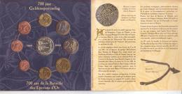 Belgio-2002-8 Valori + Medaglia-F.D.C. In Blister - Belgio