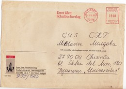 1993 , Allemagne , Germany  To Moldova , Used Cover - [7] Federal Republic