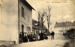 CANTAL MONTBOUDIF LA POSTE - Francia