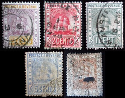 British Guiana 5 Valeurs Oblitérés Used - Brits-Guiana (...-1966)