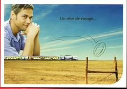 2003 TEOZ Corail **Un Rêve De Voyage** PARIS -----) Limoges -----) BRIVE Belle Carte NEUVE - Trains
