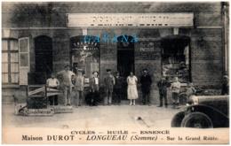 80 LONGUEAU - Maison DUROT - Cycles - Huile - Essance - Longueau