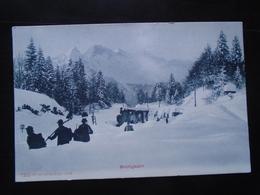 BRUNIGBAHN SWITZERLAND - AILWAYS - NOT TRAVELLED - Trains