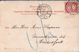 Netherlands, Grootrond Postmark St Jacobi-Parochie 12 JAN 04, - Amersfoort ,Picture  Castle Middachten - Periode 1891-1948 (Wilhelmina)