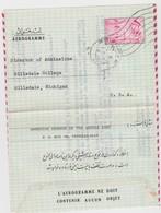 Iran Aérogramme Scan R/V. - Iran