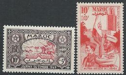 Maroc YT 275-276 XX / MNH - Marruecos (1891-1956)