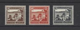 PALESTINE.Mandat Britanique YT   N° 79-81  Neuf **  1927-45 - Palestine