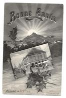 PONTARLIER Doubs Bonne Année 1906 ...G - Pontarlier