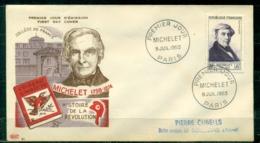 "FDC ""Edition PAC "" FRANCE-1953 # Michelet, PJ Paris (N°Yvert 949 )  - Cote  15,00 Euros - 1950-1959"