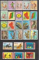 République Du Burkina Faso Ex Haute Volta - 1985 / 1986 - 26 Timbres Oblitérés - Burkina Faso (1984-...)