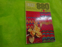880 Points  Tricot Selection  N° Special Hors Serie - Loisirs Créatifs