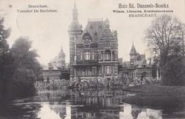 BRASSCHAAT 1906 RECLAME HUIS DANNEELS-BOECKX WIJNEN LIKEUREN - CHATEAU TORENHOF BEUKELAER - HOELEN KAPELLEN 33 - Brasschaat