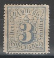 Hambourg - YT 17 (*) - 1864-65 - Hambourg