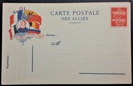 Carte De Franchise Militaire SIMILI ENTIER POSTAL SEMEUSE  ZOUAVE - Marcophilie (Lettres)