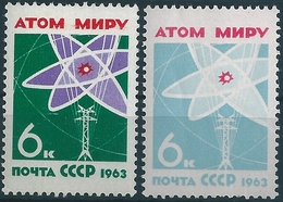 B3207 Russia USSR Science Energy Nuclear Atom Electricity ERROR - Atomo