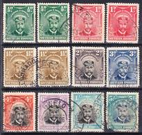Southern Rhodesia 1924 Lot 1 King George V. Definitives Used O, I Sell My Collection! - Southern Rhodesia (...-1964)