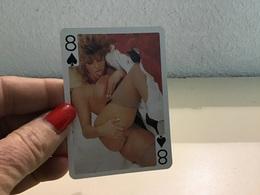 Carte Jouer Femmes Nues Années 70 Seins Nue - Kartenspiele (traditionell)