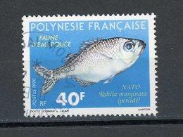 POLYNESIE - POISSON - N° Yt  352 Obli. - Polynésie Française