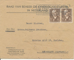 Netherlands Cover Sent To Denmark 29-8-1947 - Covers & Documents