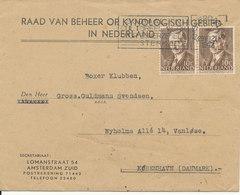 Netherlands Cover Sent To Denmark 29-8-1947 - 1891-1948 (Wilhelmine)