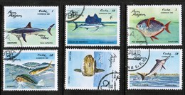 CUBA  Scott # 2385-90 VF USED (Stamp Scan # 449) - Cuba