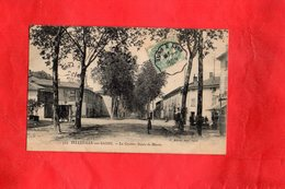 F0302 - BELLEVILLE Sur SAÔNE - 69 - La Croisée Route De Mâcon - Belleville Sur Saone