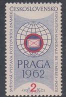 Czechoslovakia Scott 1030 1961 Praga 62 Stamp Exhibition, Mint Never Hinged - Czechoslovakia