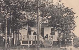 Vintage 1903-1908 - Windsor Mills Québec - Coney Island Hotel - Animated - Written - Excellent Condition - 2 Scans - Quebec
