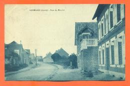 "CPA 02 Vermand "" Rue Du Moulin "" - Other Municipalities"