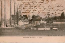 Cpa 78 GROSROUVRE  Le Village , Written In English , écrite En Anglais, 1904 - Frankreich