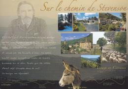 SUR LE CHEMIN DE STEVENSON - VOYAGE EN CEVENNES - Cartes Postales