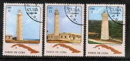 CUBA  Scott # 2363-5 VF USED (Stamp Scan # 449) - Cuba