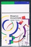 2018  150. Geburtstag Von Magnus Hirschfeld - [7] République Fédérale