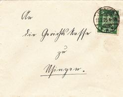 Usingen Im Taunus, Briefumschlag Von 1925 - Documents Historiques
