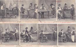 155/ Serie Van 10 Kaarten, Mes Deux Culottes, 1904 - Postkaarten