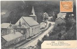Coo NA1: L'Eglise Vue De La Route De Grand Coo 1912 - Trois-Ponts