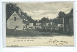Auderghem Les Environs De Bruxelles - Rouge Cloître-Auderghem. Bains Kneip Courses à ânes, Pêche, Etc. - Auderghem - Oudergem