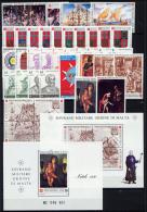 Smom 1990 -- Annata Completa --- Complete Years ** MNH / VF - Malte (Ordre De)