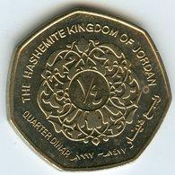 Jordanie Jordan 1/4 Dinar 1997 - 1417 UNC KM 61 - Jordanie