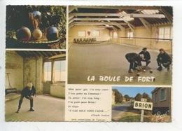 La Boule De Fort (Anjou) Mon Pauv'gas...d'Emile Joulain - Brion Pétanque (cp Vierge) - Pétanque