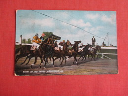 Start Of The Derby Louisville KY  Ref 3149 - Postcards