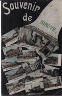 Ninove -  Souvenir De - Multizicht In Kleur - Stempel Apotheek Cobbaert - Ninove