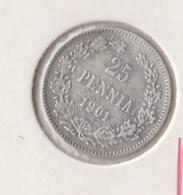@Y@   FINLAND   25  Pennia 1901  Zilver / Ag     (2733) - Finnland