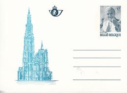 Belgio (1985) - Intero Postale Papa Giovanni Paolo II - Cartes Illustrées