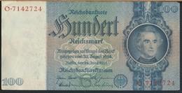 °°° GERMANY - 100 REICHSMARK 1935 SERIE O °°° - [ 4] 1933-1945: Derde Rijk