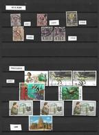 SIAM Et THAILANDE: Lot De  15 TP  Oblit. SIAM (6TP) 1887/1928  Et  THAILANDE (9TP) 1997/98 - Siam