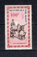 MADAGASCAR  PA N° 96  NEUF SANS CHARNIERE  COTE  2.20€  ART MALGACHE - Madagascar (1960-...)