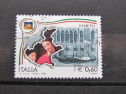 *ITALIA* USATI 2008 - REGIONI D'ITALIA VENETO - SASSONE 3039 - LUSSO/FIOR DI STAMPA - 6. 1946-.. Repubblica