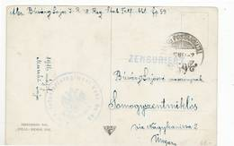 8990 OSTERREICH ARMY Censura Censure Zensur Censored - INFANTERIE REGIMENT 48 - 1850-1918 Imperium